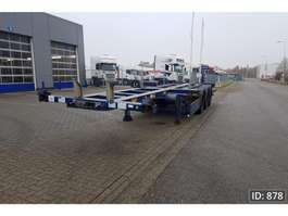 containersysteem oplegger Broshuis 3UCC-39 Extendable 2007