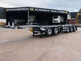 chassis oplegger D-TEC deelbare 5 asser 2020