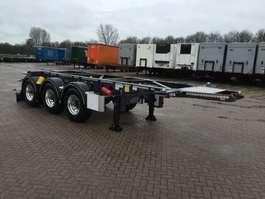 chassis oplegger Van Hool Tankchassis 20ft ADR met certificaat 2020