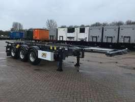 chassis oplegger Van Hool Tankchassis 20ft / 30ft ADR met certificaat 2020