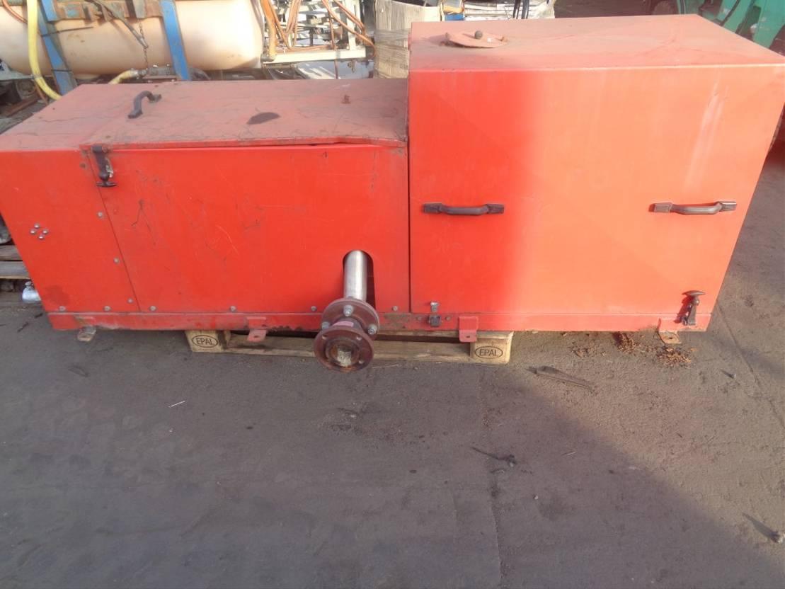 Opbouw vrachtwagen onderdeel Lombardini Occ brandweerinstallatie
