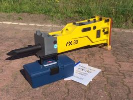 breker en hamer Hydraram FX-30 | 145KG | 2.5 ~ 4.5 Ton | Sloophamer 2018