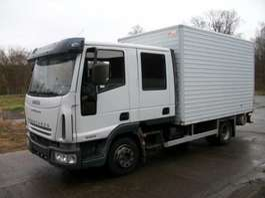 bakwagen vrachtwagen Iveco EUROCARGO 80E18 DOKA- 177300 KM- SERVICE 2006