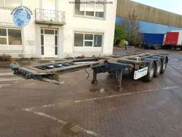 containersysteem oplegger Pacton 1x20 2x20 / 1x30 / 1x40 / 1x45 2008
