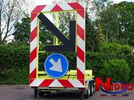 overige aanhangwagen Atlas Copco PIJLKAR TRAFFIC SUPPORT SOLAR EMERGENTY LANE 2003