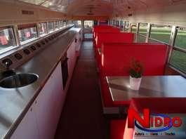 overige bussen International BLUE BIRD - SCHOOLBUS - FOODTRUCK 1995