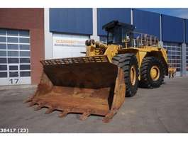 rupslader Caterpillar 990 H Wheel loader MA 4 New Tyres 2006