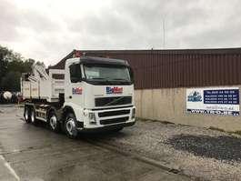 containersysteem vrachtwagen Volvo VOLVO FH12.380 8X4 HAAKSYSTEEM + SILOSYSTEEM + 2 CONTAINERS (1 met kraan) 2002