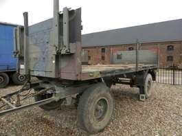 platte oplegger Kaessbohrer 2-assige aanhangwagen 1990