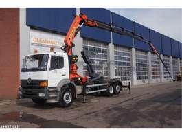 containersysteem vrachtwagen Mercedes Benz Atego 2628 Palfinger 27 ton/meter laadkraan + Jib 2000