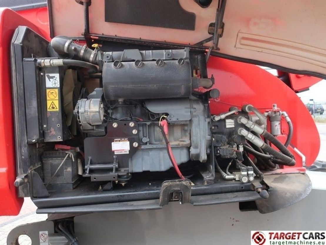 hoogwerker aanhanger JLG 660SJ Diesel 4x4 Telescopic Boom Work Lift 2232cm w/JIB 2007