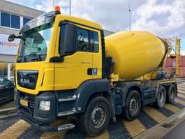 betonmixer vrachtwagen MAN TGS 37.360 8x4 EURO6 10m3 mixer EURO6 2016