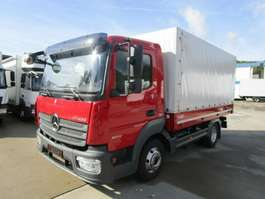 bakwagen bedrijfswagen Mercedes Benz ATEGO IV 823 L Pritsche 4 m AHK*NL 3 T*31 tkm 2015