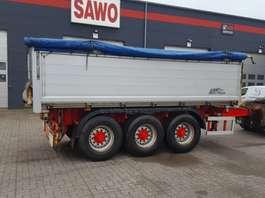 platte aanhanger vrachtwagen AMT DRAWBAR 2012