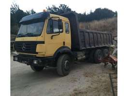 kipper vrachtwagen Mercedes Benz 2435 Full steel suspension 1992