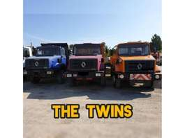kipper vrachtwagen Renault CBH