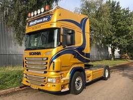 standaard trekker Scania R 420 A 4x2 topline opticruise 4 balgenvering 2011