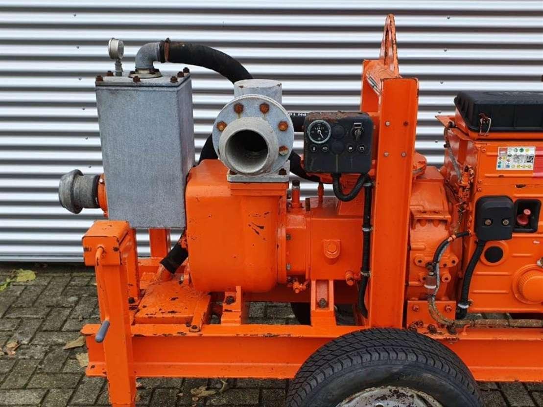 waterpomp machine BBA Waterpumps B100+ MP60+Hatz 2005