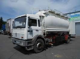 chassis cabine vrachtwagen Renault G270 - cement tank/citerne ciment - lames/steel - manual 1990