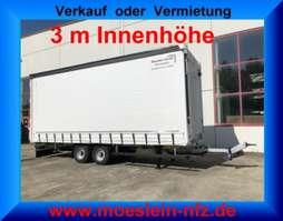 huifzeil aanhanger Möslein TP 11-3  Tandem- Schiebeplanenanhänger 3 m Innenhöhe-- Fahrgestell und Au 2019