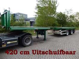 platte oplegger Nooteboom OVB-38-02V 2 As Oplegger Open - Oplegger T.b.v. Containertransport, OG-2... 1999