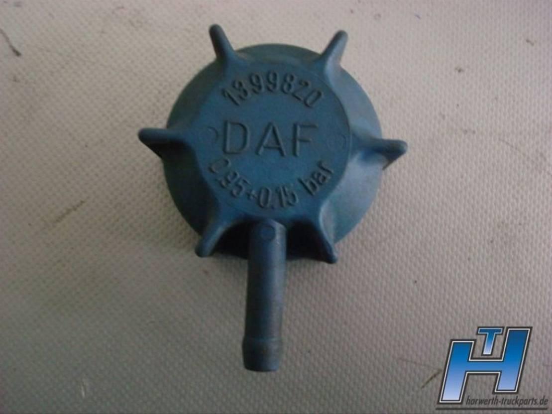Koelsysteem vrachtwagen onderdeel DAF Druckverschluss Kühlflüssigkeitsbehälter 1399820 CF-XF E6