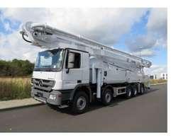 betonpomp vrachtwagen Mercedes Benz Actros 3 5050 K 2019