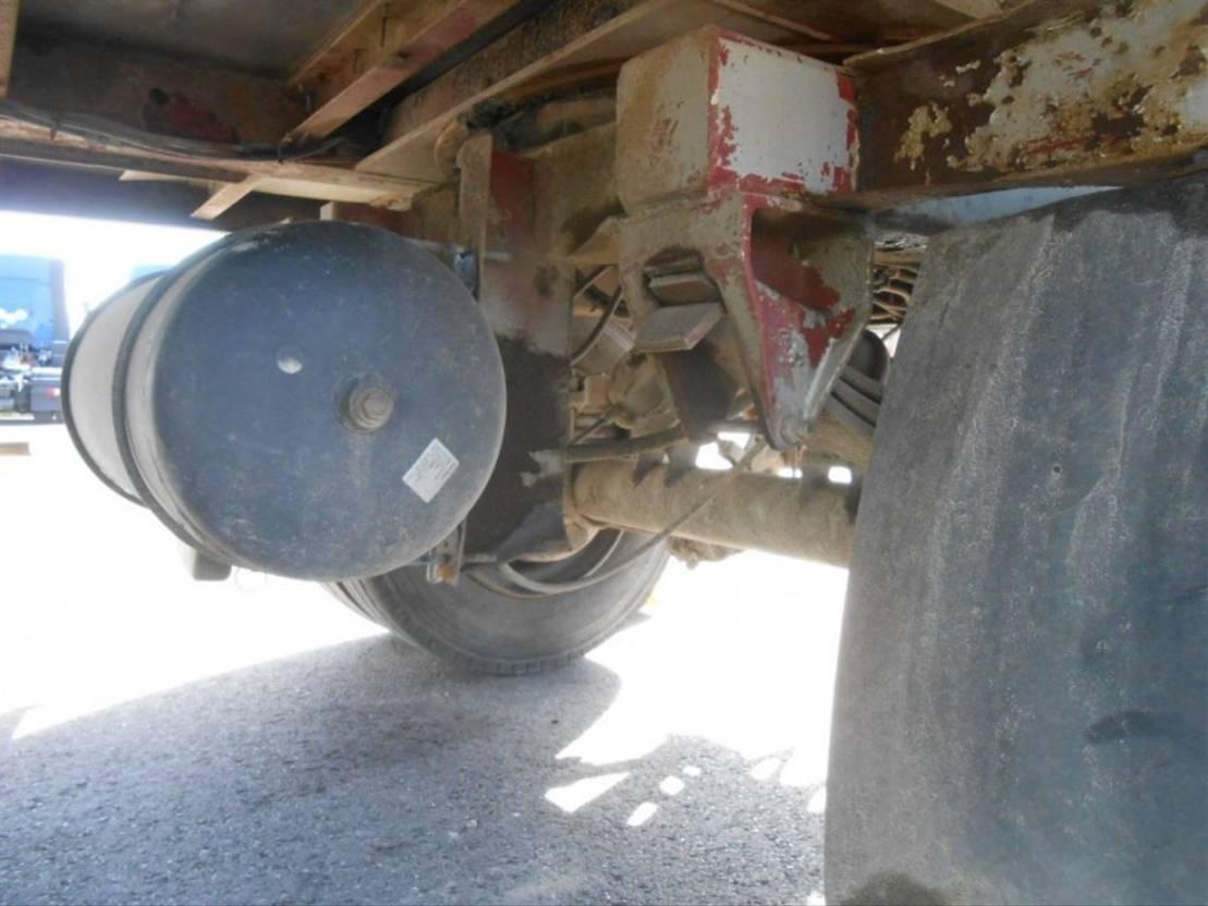 hoogwerker aanhanger DIV. Trouillet Platforme chariot - 2 axles twin tyres / 2 essieux jumelés 1991
