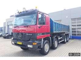 kipper vrachtwagen Mercedes Benz Actros 4140 Day Cab, Euro 3, - Full steel / Big axles - 2000