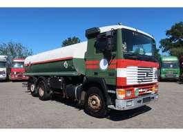 tankwagen vrachtwagen Volvo F10 full spring 3 axels. 15010 Liters 1992