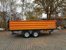 kipper vrachtwagen > 7.5 t Möslein TTD13- BA Orange  13 t Tandem Kipper Tiefladermit Bordwand- Aufsatz-- Neufa 2021