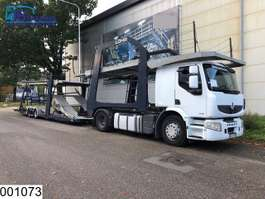 autotransporter vrachtwagen Renault Premium 450 Dxi Lohr, Eurolohr Car transporter, Manual, Retarder, Airco,... 2008
