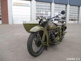motorfiets Harley-Davidson D 750 D750 zijspan combinatie 1929