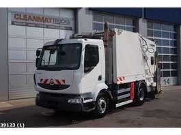 vuilniswagen vrachtwagen Renault Midlum 220 Faun 8m3 2008
