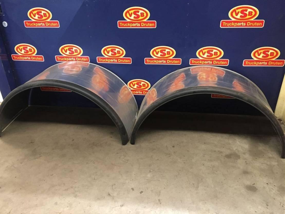 chassis vrachtwagen onderdeel Universal ijzeren spatborden met rubberen rand