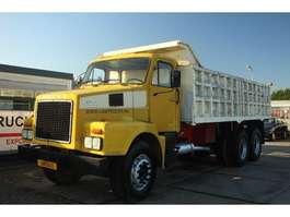 kipper vrachtwagen Volvo N12  6X4 1986
