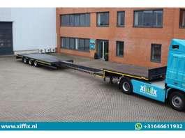 semi dieplader oplegger Lintrailers NIEUWE 3-ass. uitschuifbare semi dieplader // Naloop gestuurd