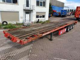 containersysteem oplegger Van Hool Plateau for Containers - 2x20FT - 40FT - 45FT 1992