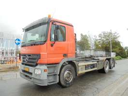 containersysteem vrachtwagen Mercedes Benz 2541 2006