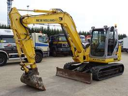 rupsgraafmachine New Holland kobelco kobelco E80BMSR-2 2009