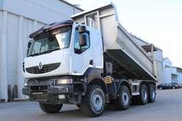 kipper vrachtwagen Renault Kerax 450 8x4 E5 Reifen 70% Retarder Leasing 2008