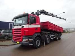 kipper vrachtwagen Scania R 420 8 X 4 HIAB 288FP - 5 HIPRO 2007