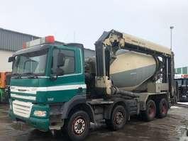 betonmixer vrachtwagen DAF CF85-410 8X4 EURO 5 LIEBERR LTD 12+4  9M3 2008