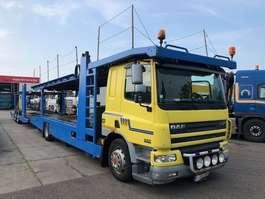 autotransporter vrachtwagen DAF CF75-360 MET THIJHOF OPBOUW COMBI 2002