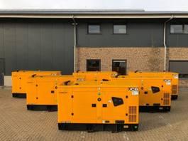 generator JCB G91QS Stage 3A 91 kVA Supersilent generatorset New ! 2019