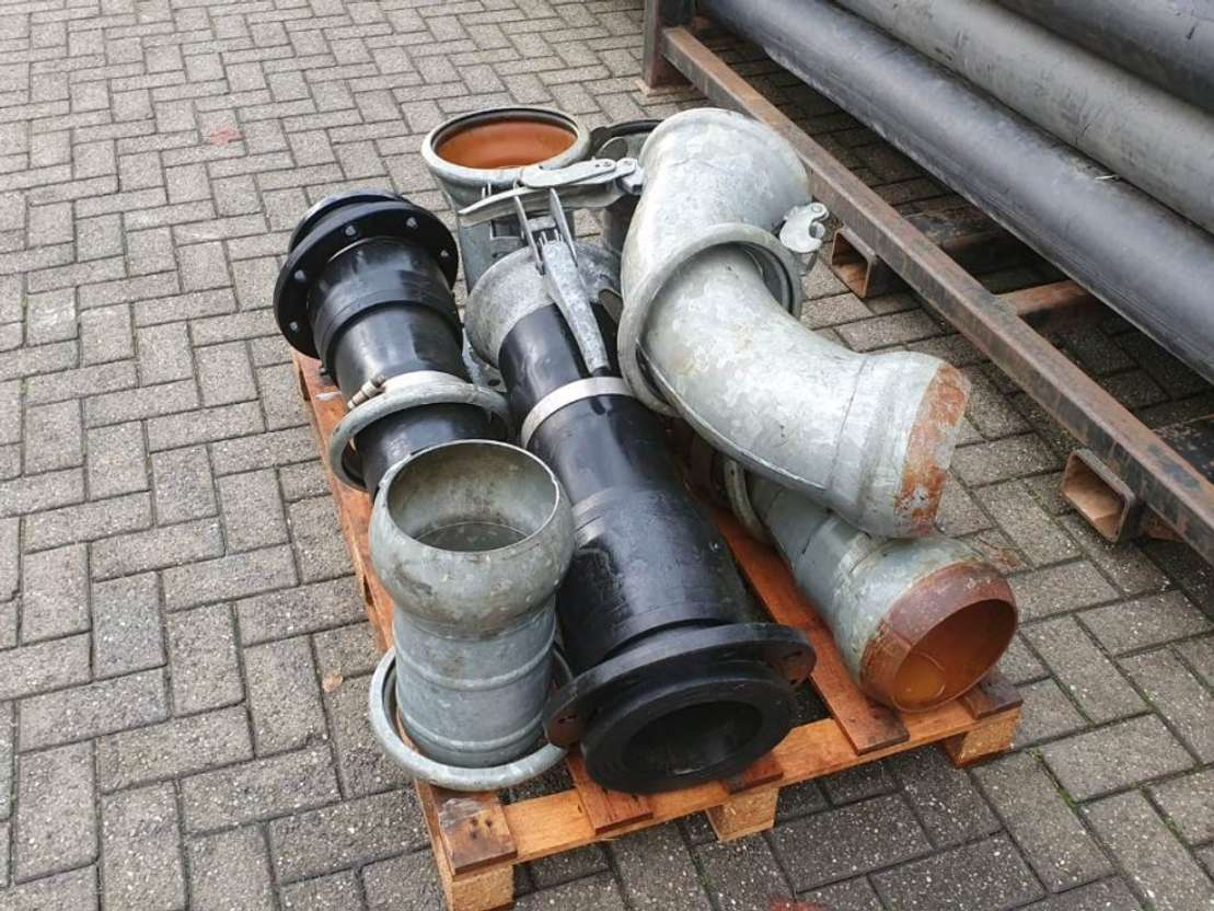 waterpomp machine BBA Waterpumps HDPE Ø200 x 7,7 6M Bauer 2015
