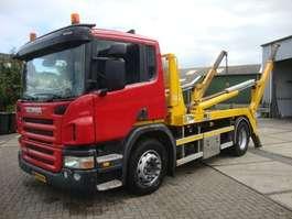 containersysteem vrachtwagen Scania P280 hyva 12 ton portaal EURO5 2009