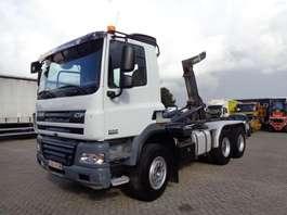 containersysteem vrachtwagen DAF CF 85.410 + 6x4 + Manual + pto + Retarder spring spring big axle 2008