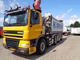 containersysteem vrachtwagen Ginaf X 4243 TS + 8X4 + HMF CRANE + REMOTE CONTROL + CHAIN SYSTEM 2006
