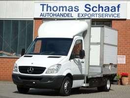bakwagen bedrijfswagen Mercedes Benz Sprinter 515 Cdi Maxi Toiletten/Dixi/Wc Pritsche 2007